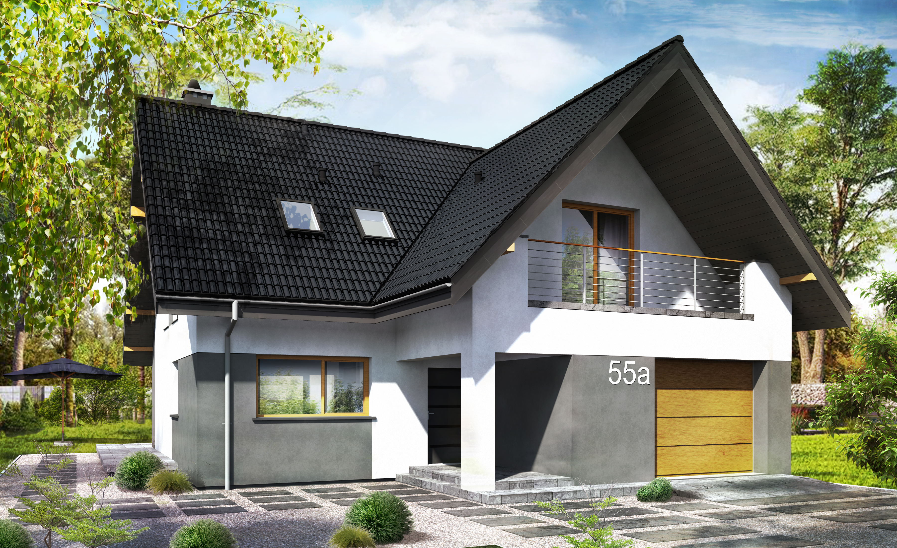 projekt domu w przyłubsku