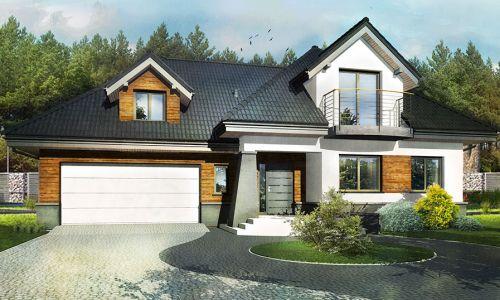 projet domu w lesniakach